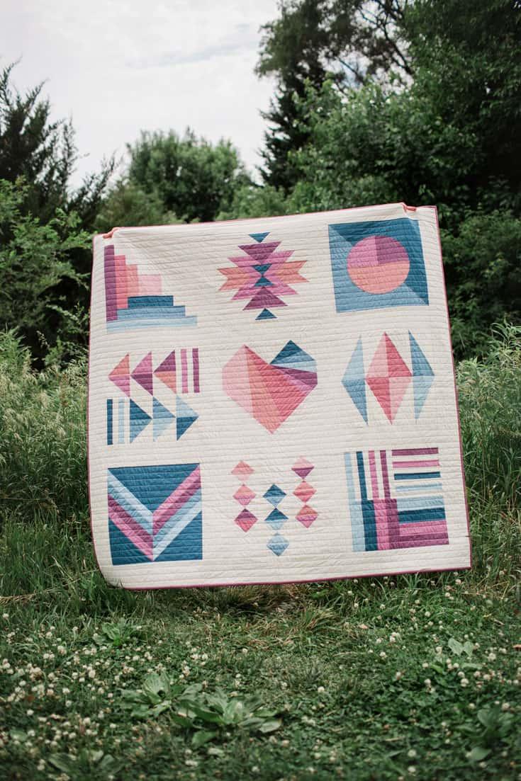 Kinfolk Modern Sampler Quilt_Wren Collective_CC Version 001