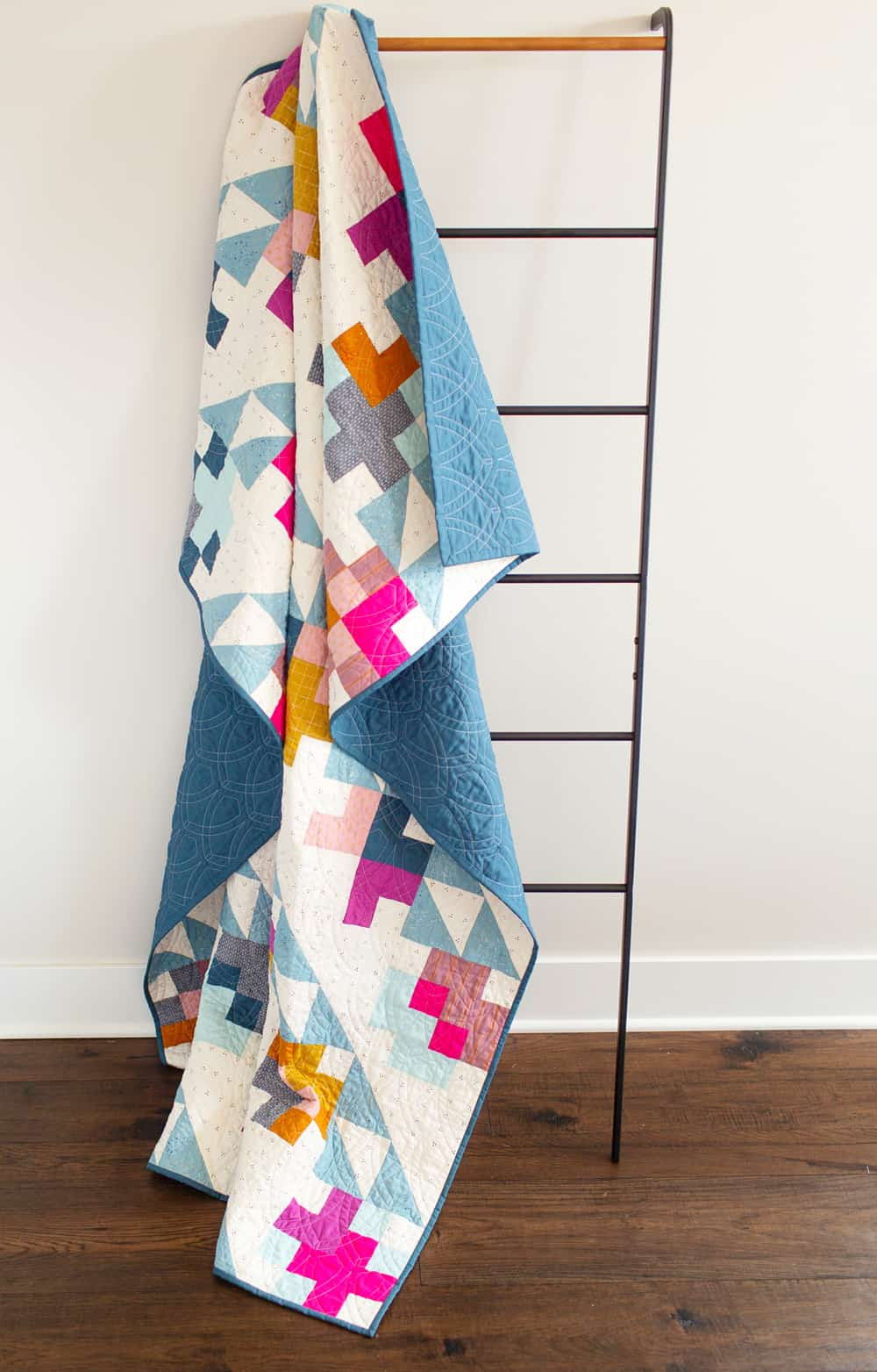 Wren Collective modern quilted Mae--ladder full shot