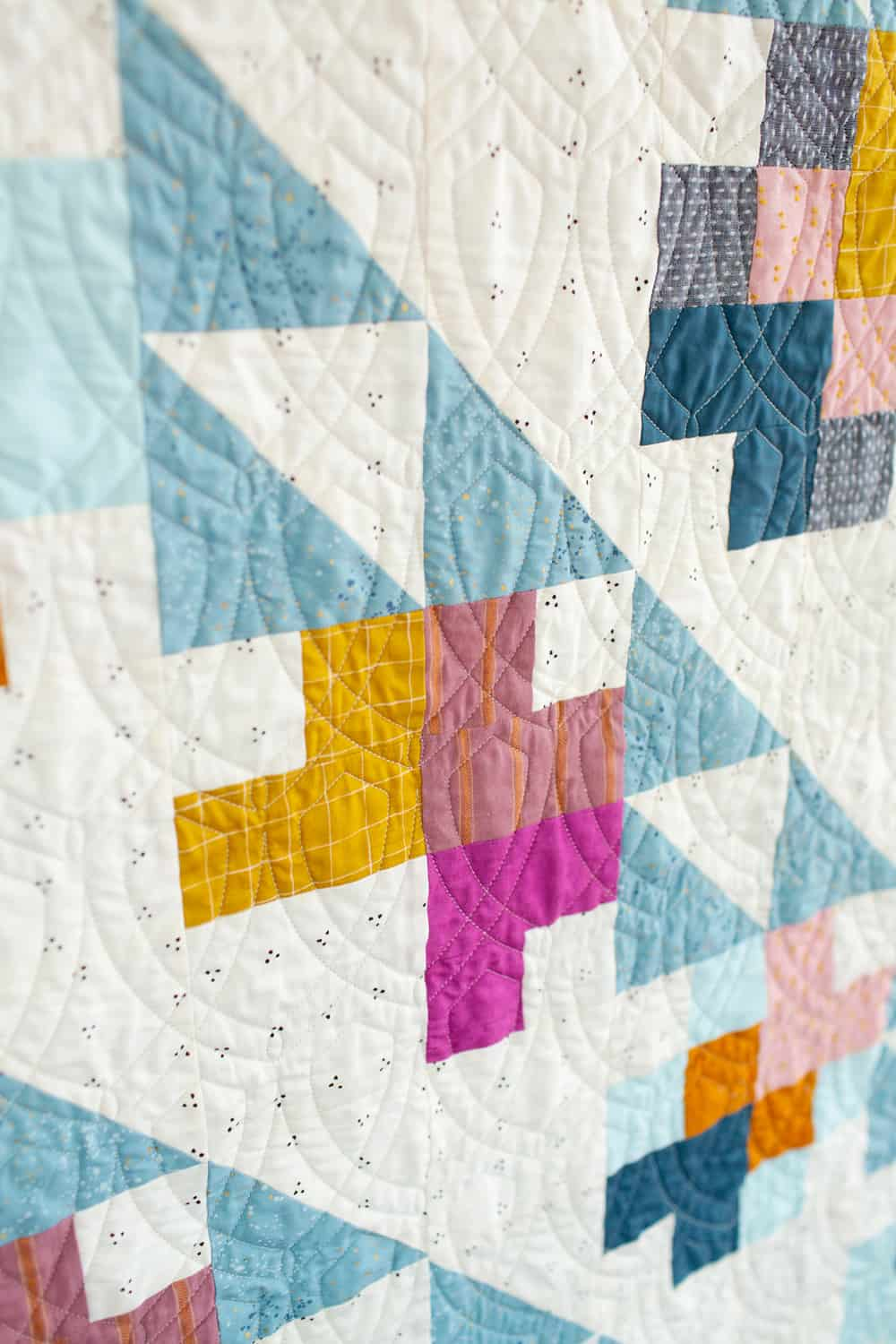 Quilted Mae detail shot