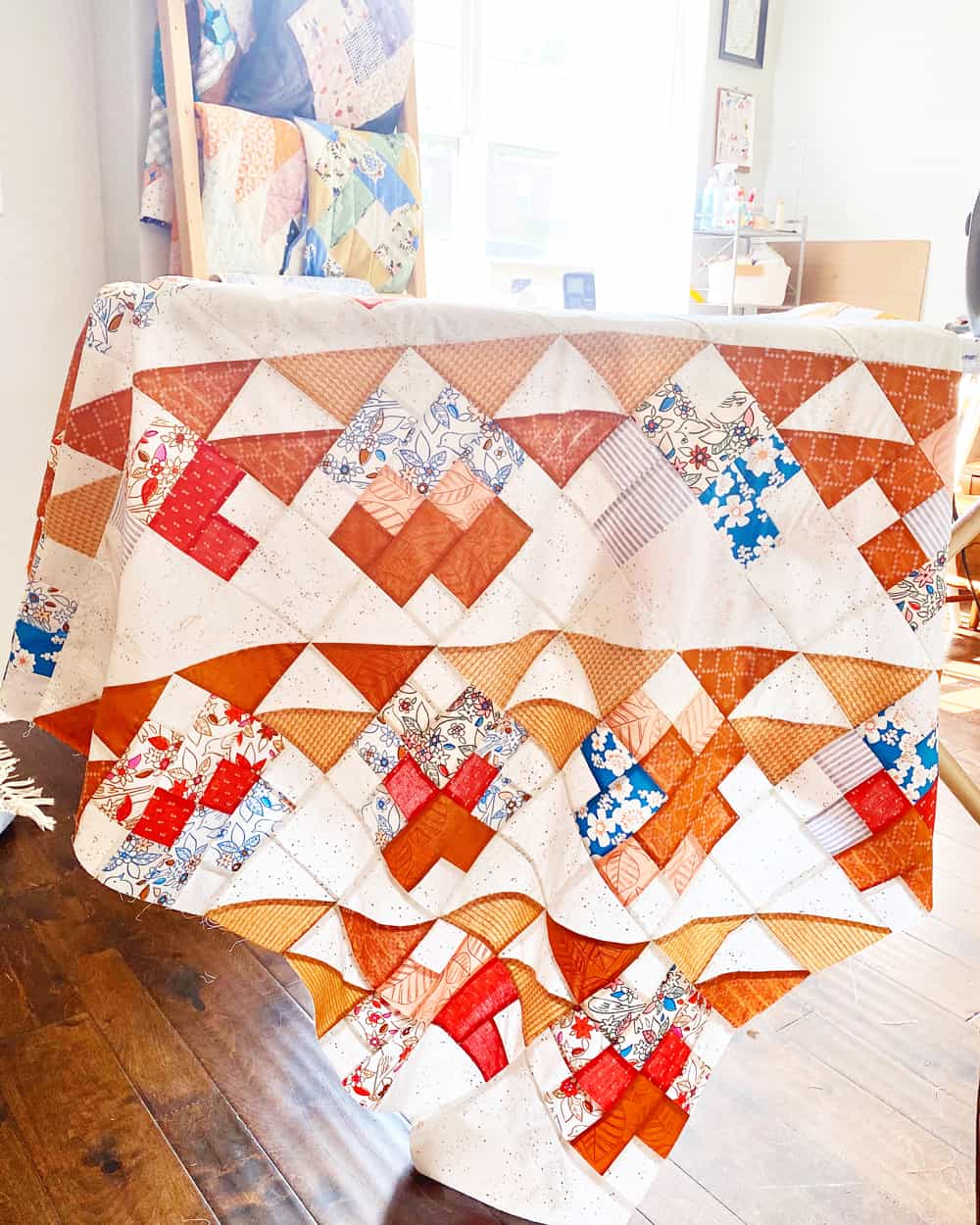 The Mae Quilt Tester Versions - Penelope Handmade 001