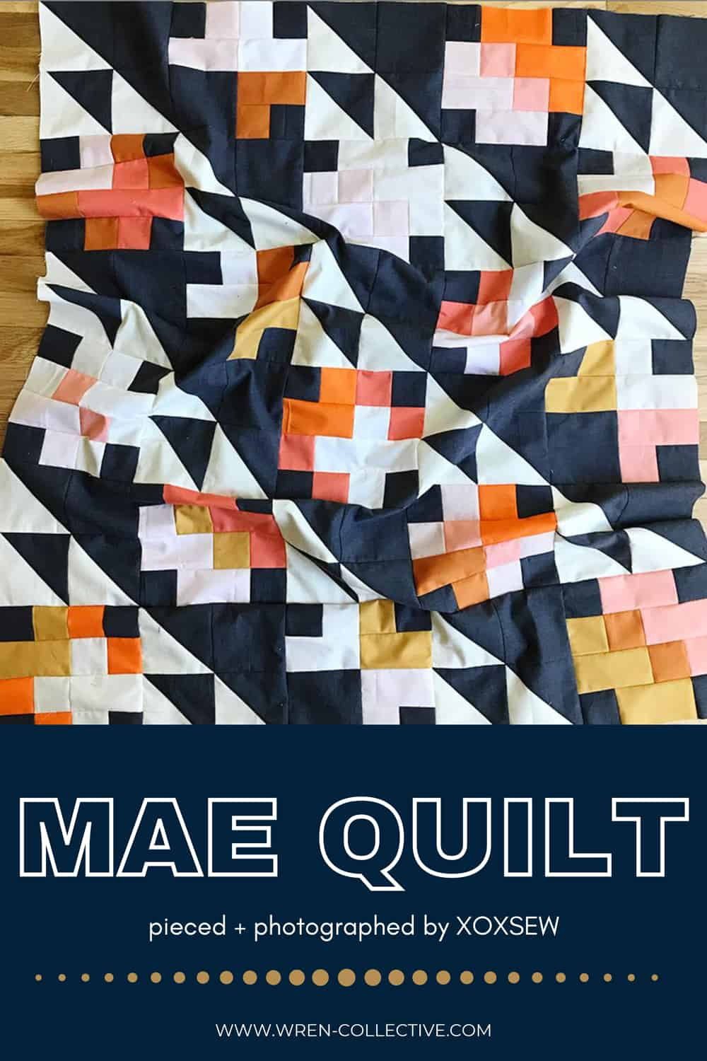 The Mae Quilt Tester Versions - XOXSEW 001