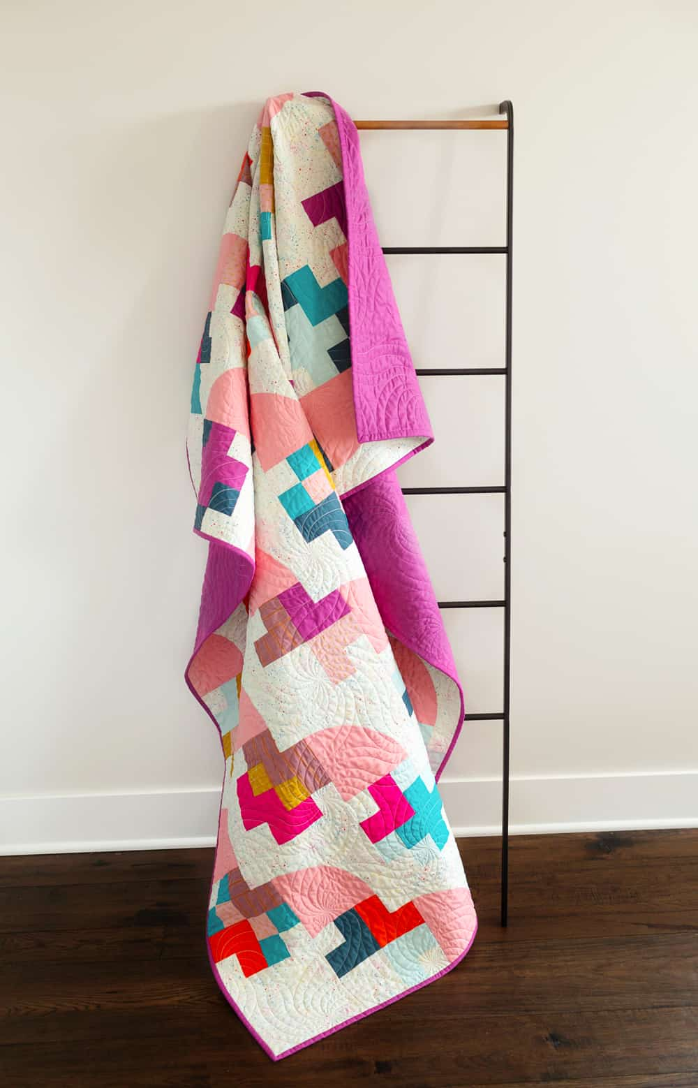 The Marcella and Mae Quilts from Wren Collective -Top Ladder Shot of Cover Version 001