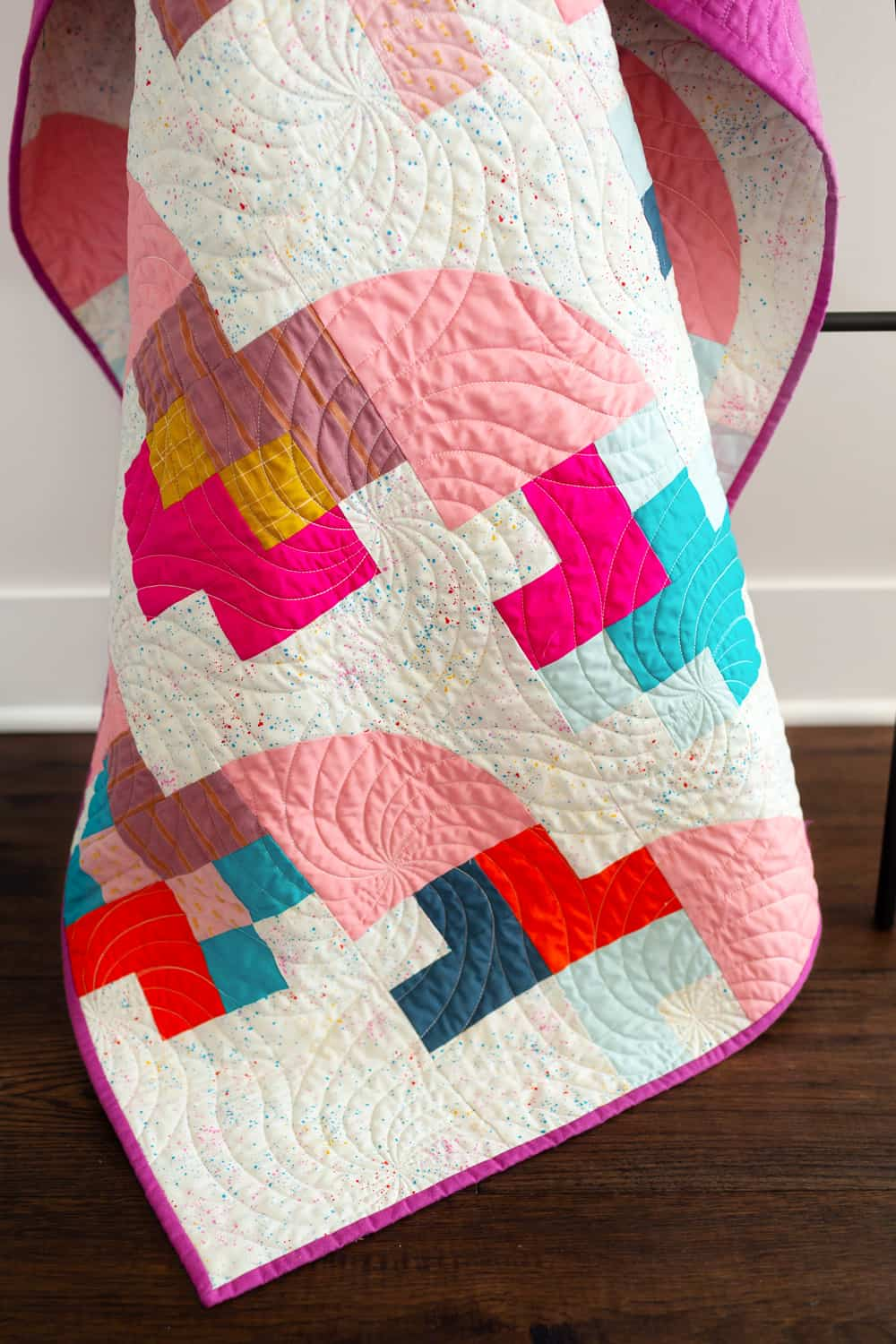 The Marcella and Mae Quilt patterns from Wren Collective -Top Ladder Detail of Cover Version 001