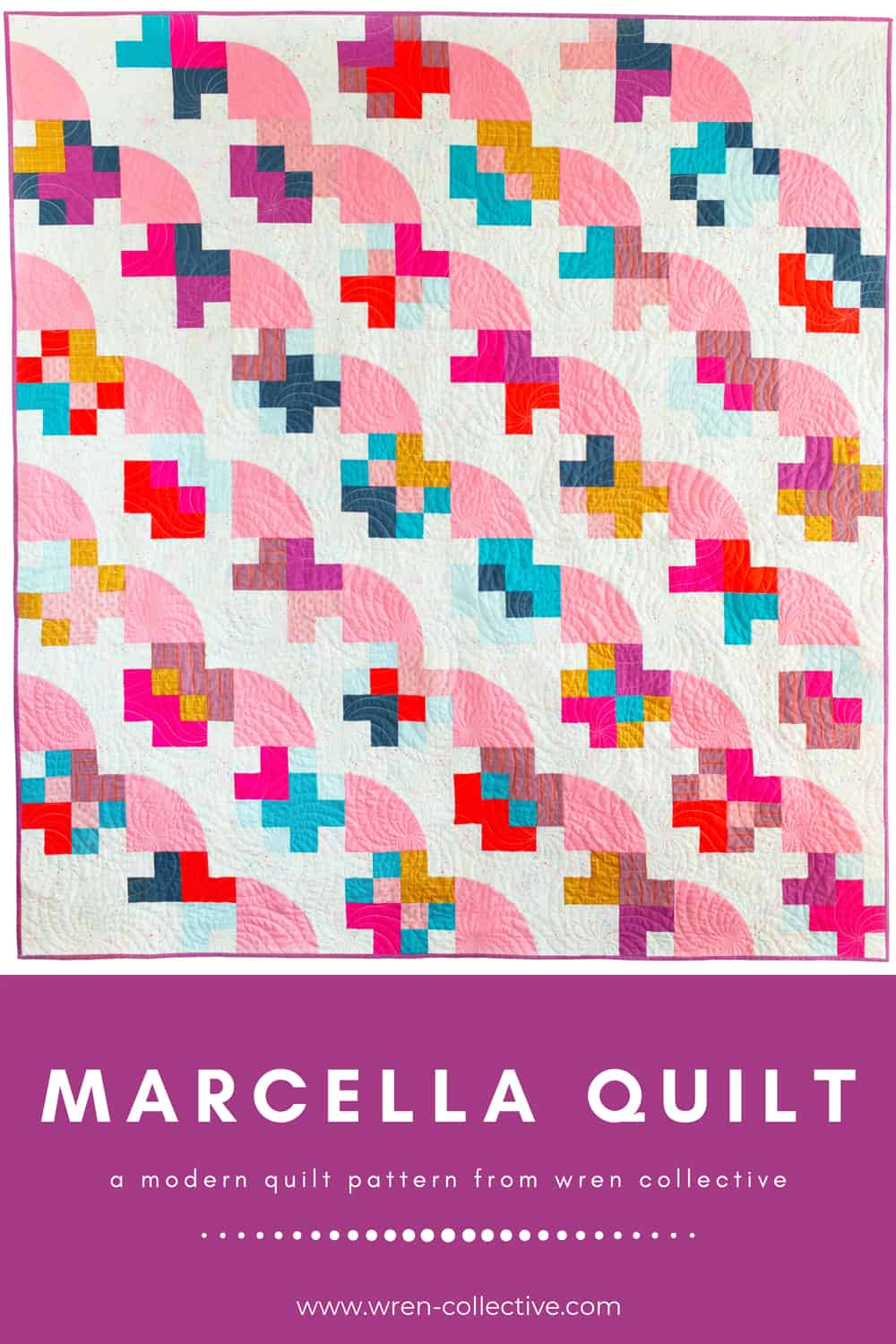 The Marcella and Mae Quilts from Wren Collective - Cover Version 001