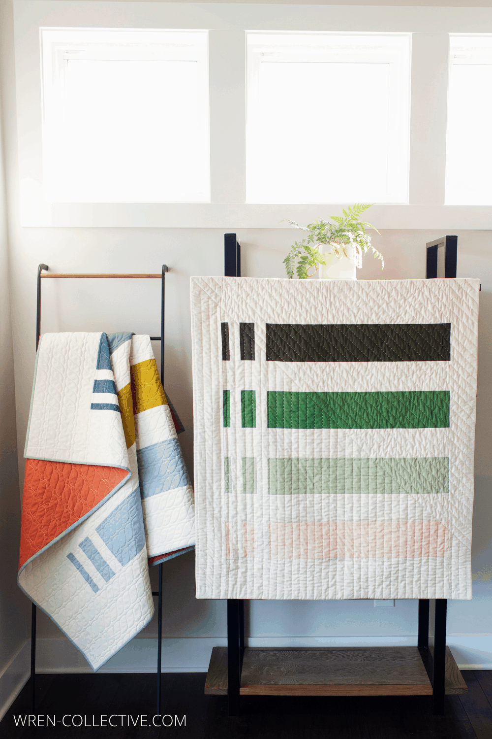 Punch Lines Quilt - Wren Collective