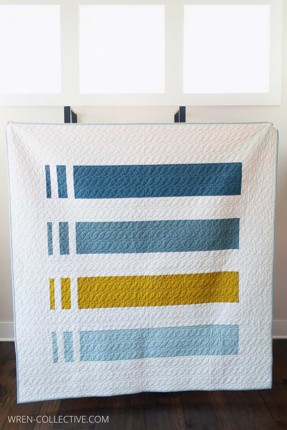 Punch Lines Quilt from Wren Collective - A Free and Easy Quilt Pattern