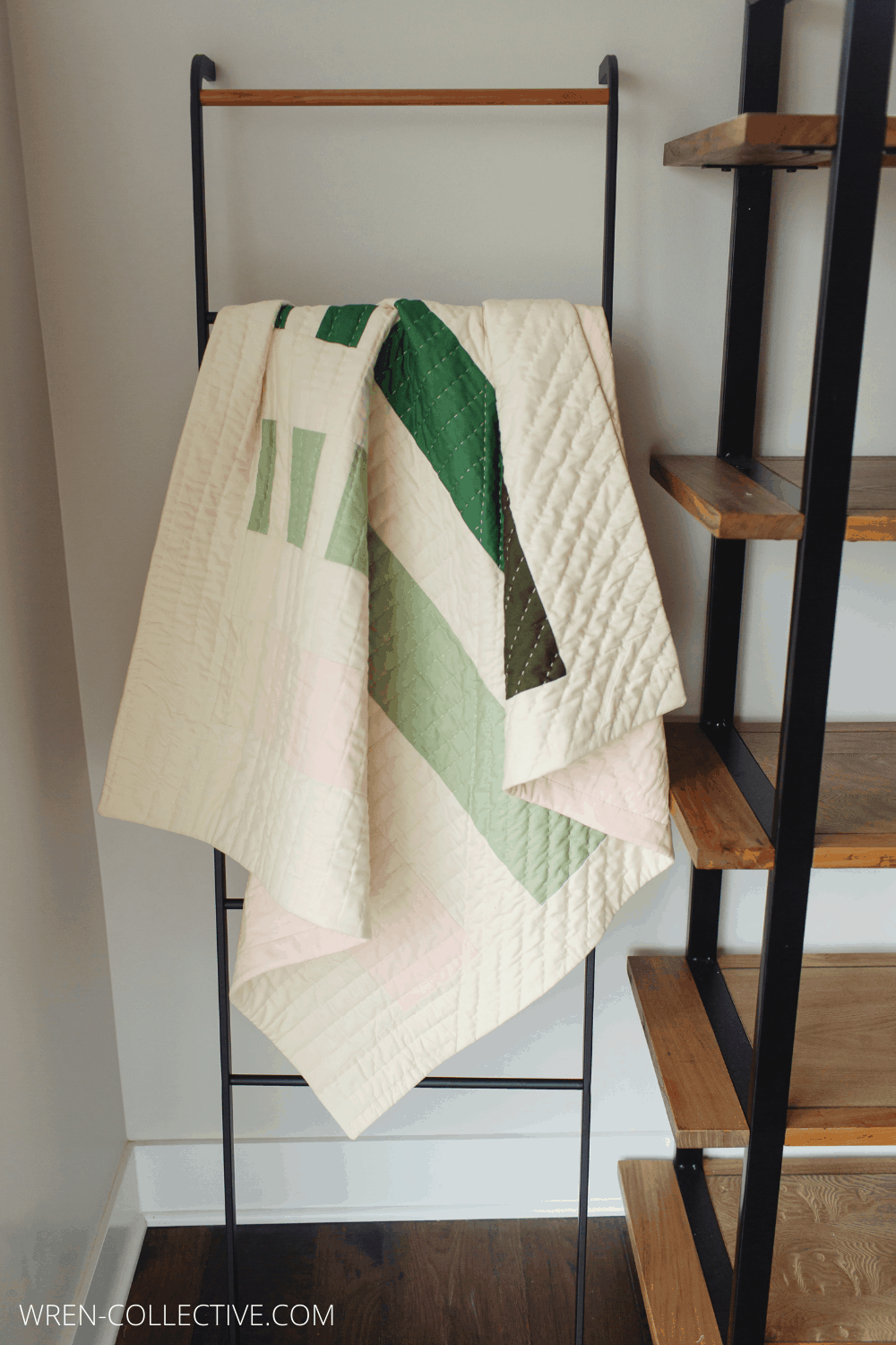 Punch Lines - An Easy and Free Quilt Pattern - Wren Collective