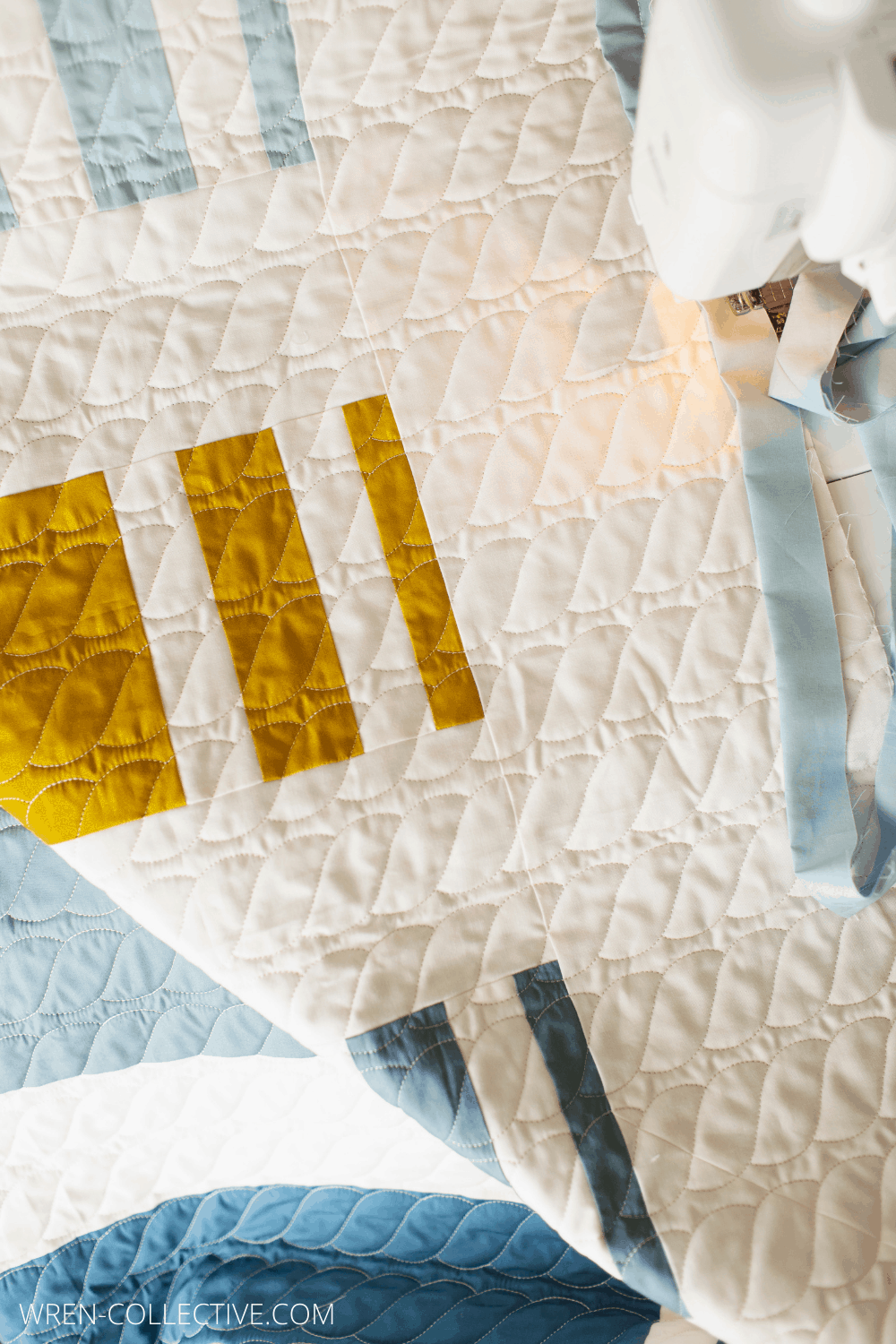 Punch Lines Quilt - Wren Collective - A Fast and Easy Quilt Pattern